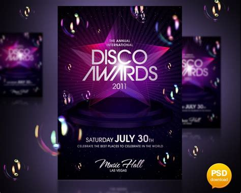 stunning examples  nightclub party poster flyer