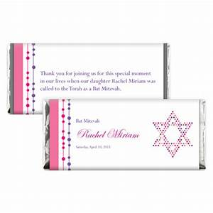 bat mitzvah candy wrappers With bat candy bar wrapper template