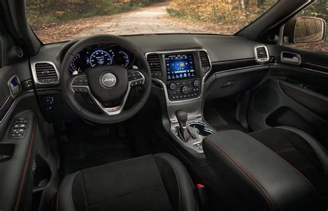jeep interior 2017 2017 jeep grand cherokee gets new shifter electric
