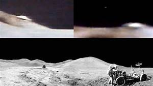 Disk Shaped UFO During Apollo 15 Mission on the Moon in ...