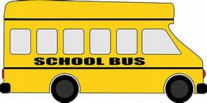 Clipart - Yellow School Bus