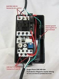 2hp Single 1 Phase Magnetic Starter Motor Control 208