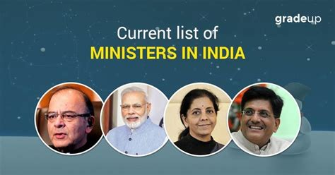 List Of Current Cabinet Ministers by List Of Current Cabinet Ministers Of India Their