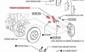 Lexus Is How To Replace Brake Calipers
