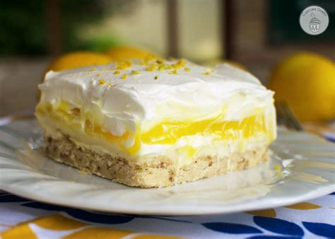 dessert recipes with lemon lemon lush dessert
