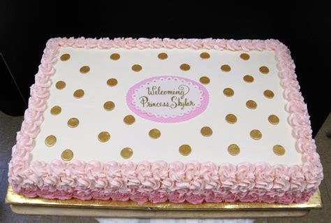 Baby Shower Sheet Cakes For by Image Result For Pink And Gold Birthday Sheet Cake