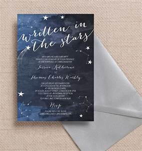 17 of the best printable wedding invitations ever With wedding invitation templates stars