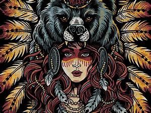 Native Bear by Derrick Castle - Dribbble