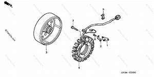 Honda Atv 2004 Oem Parts Diagram For Alternator
