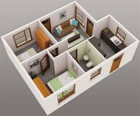 desain denah rumah minimalis  kamar terbaru  desain