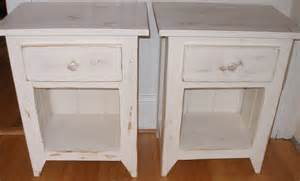 shabby chic end tables end table white shabby chic by rusticfurnishings on etsy
