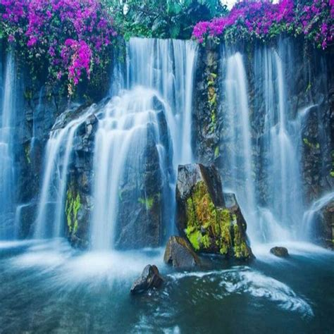 beibehang custom  wallpaper waterfall country landscape