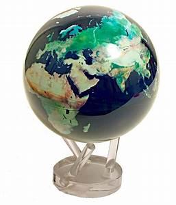 Self Rotating Satellite View Globe