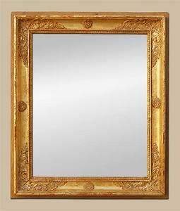Miroir Doré Ancien : miroir ancien poque restauration bois dor 19eme ~ Teatrodelosmanantiales.com Idées de Décoration