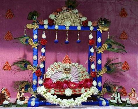 easy janmastami decoration ideas jhulapalnamatki sajane