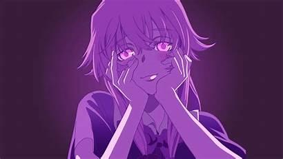 Mirai Nikki Yuno Gasai Anime Yandere Poster