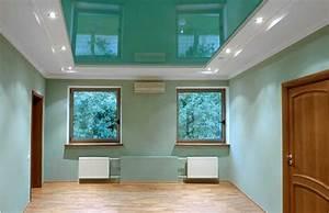Comment Faire Un Plafond En Placo : comment peindre un plafond en placo sans faire de trace ~ Dailycaller-alerts.com Idées de Décoration