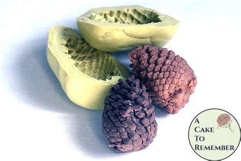 silicone pinecone mold  cake  remember llc
