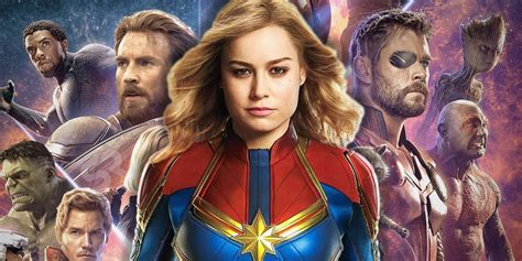 Captain Marvel Movie Every Entertainment Weekly Reveal