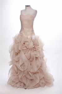 bespoke brides top 10 coloured wedding dresses on etsy With rose wedding dress