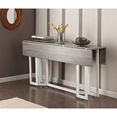 grey entryway table grey entryway table with leaf stabbedinback foyer 3