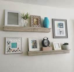 Best ideas about floating shelf decor on