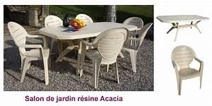 Salon De Jardin Beige : mobilier et meubles de jardin salon d jardin acadia beige grosfillex oogarden france ~ Teatrodelosmanantiales.com Idées de Décoration