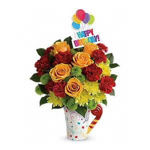 cheap flowers delivery n 39 festive birthday bouquet at send flowers