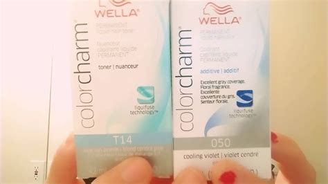 Wella T14 And 050 With #10 Developer Part 1