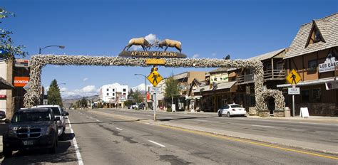 not shabby afton wy file afton wy antler arch 1 jpg wikipedia