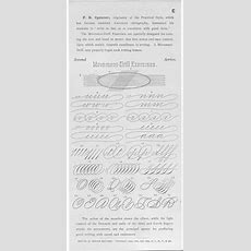 1000+ Images About Calligraphy  Exercise, Copperplate And Spencerian On Pinterest