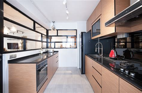 kitchen black stainless steel 5 contemporary hdb kitchens with warmth and style