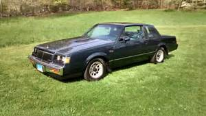 1986 Buick Regal T-type Turbo For Sale