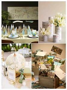 Deco Mariage Vintage : decoration mariage voyage vintage ~ Farleysfitness.com Idées de Décoration