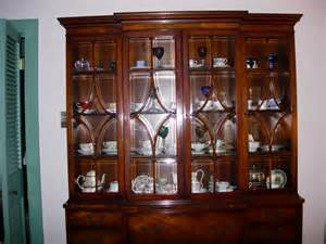 Henredon China Cabinet Value by Mahogany China Cabinet Bookcase Henredon For