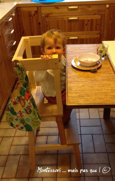 chaise montessori chaise haute montessori mais pas que