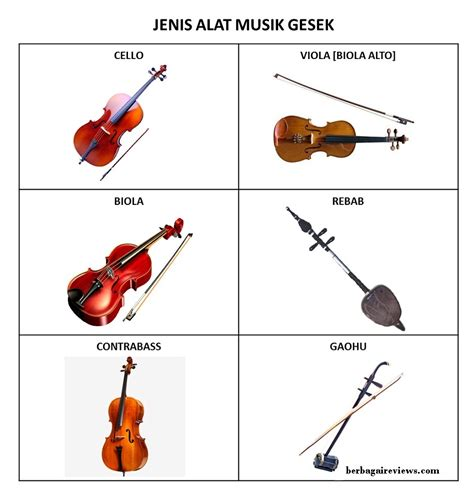 Selain itu pengertian arsip dan kearsipan. Alat musik gesek - berbagaireviews.com