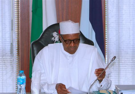 I Resumed Office Today by Buhari Writes National Assembly Says I Resumed The