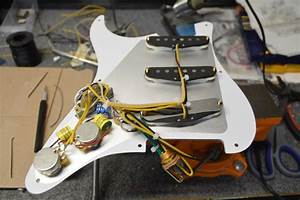 Handcrafted  U201cdavid Gilmour U201d Style Loaded Stratocaster