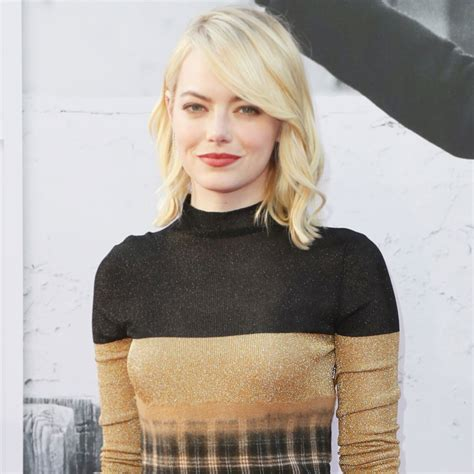 Emma Stones New Hairstyle Is Perfect For Fall