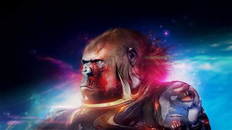 1440p Animated Wallpaper - space gorilla hd wallpaper wallpaper