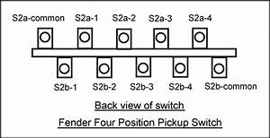 Wiring Two Humbuckers With Two 4-way Switches