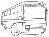 Bus Coloring Pages Printable Cool2bkids sketch template