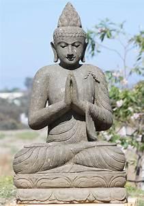 Sold, Stone, Namaste, Garden, Buddha, Statue, 43, U0026quot, 102ls3, Hindu, Gods, U0026, Buddha, Statues