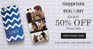 Custom IPhone Case Deals: Get 50% off Tinyprints Custom ...