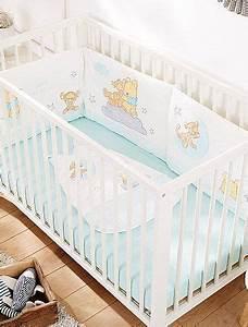 Linge De Lit Bébé Garçon : tour de lit en velours 39 winnie 39 b b gar on kiabi 30 00 b b cribs bebe et bed ~ Melissatoandfro.com Idées de Décoration