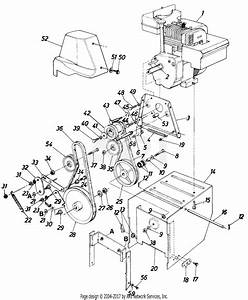 Mtd Snow Champ Mdl Pj 605  8461 Parts Diagram For Parts