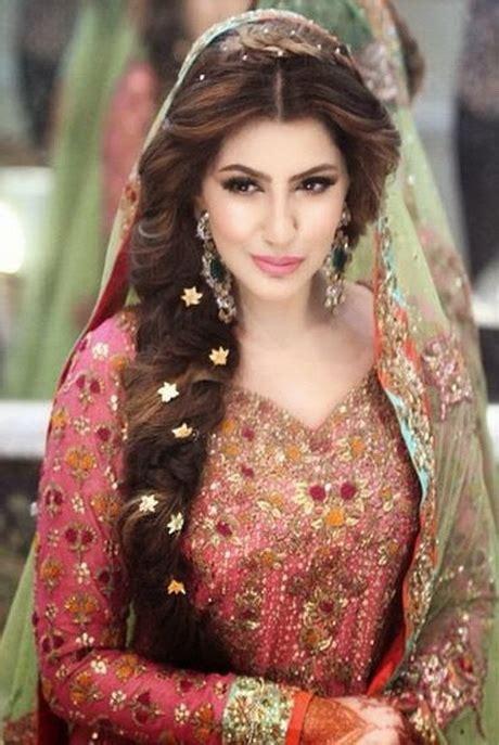 latest bridal hairstyles  pakistan