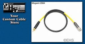 Mogami 2964 75ohm Coax Cable  Bnc  Rca  Or F