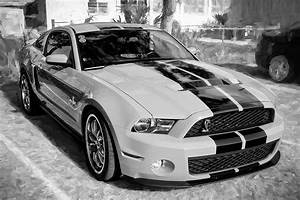 2010 Ford Shelby Mustang Gt500 002 Photograph by Rich Franco